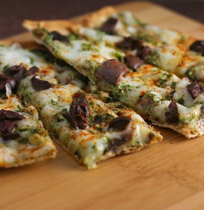 Quick Low Calorie Flatbread