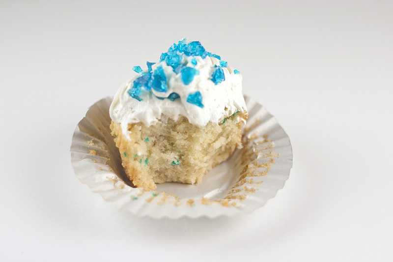 Breaking Bad Blue Meth Cupcake