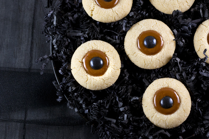 Eyeball Butter Cookies