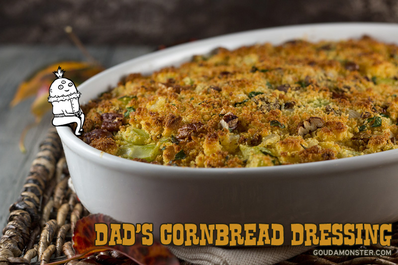 Dad's Cornbread Dressing